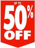 Oszczędzasz 50%